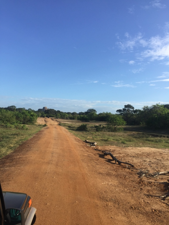 Dirt roads in Yala